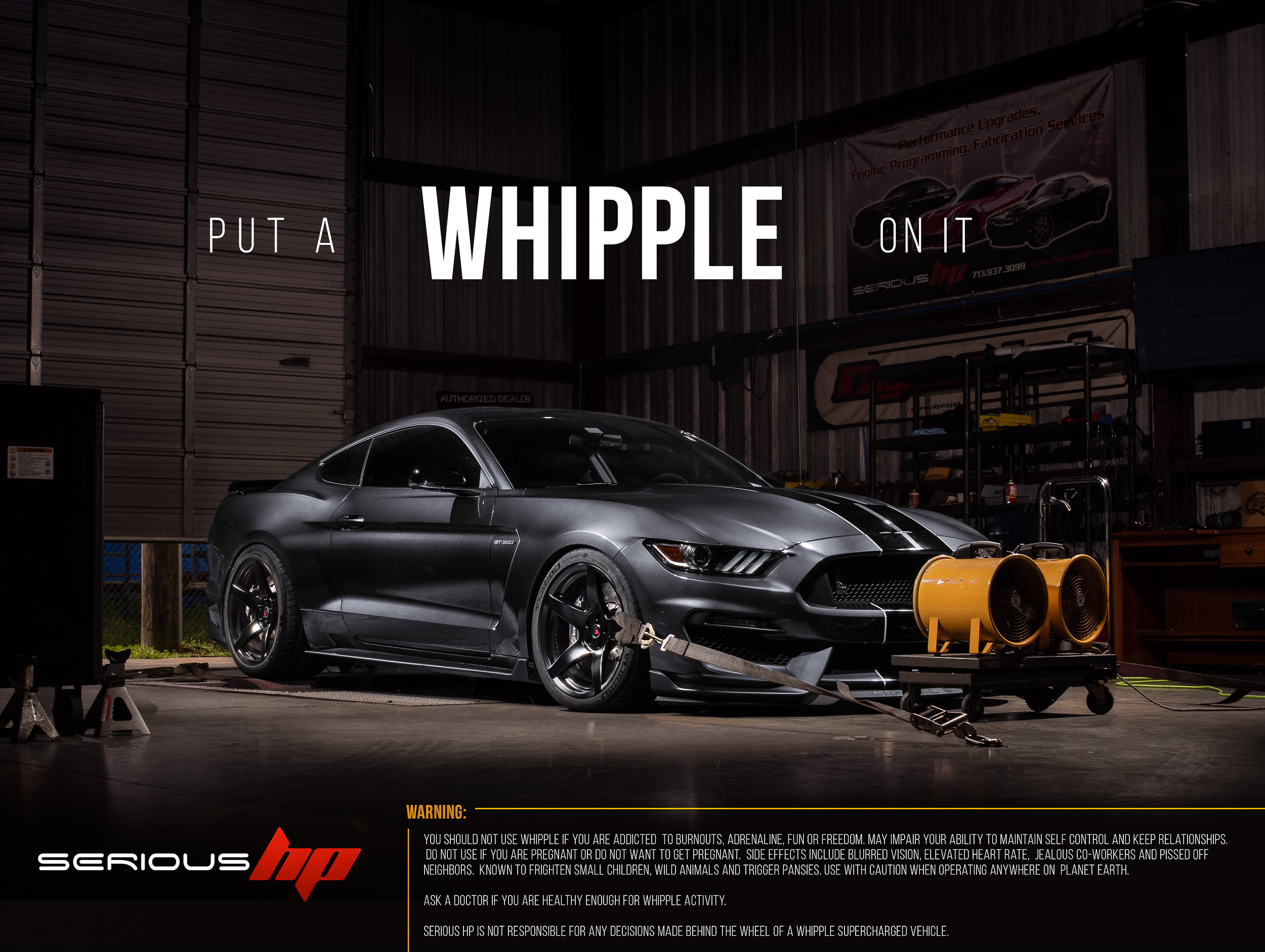 Whipple Superchargers Ford Mustang Shelby GT350