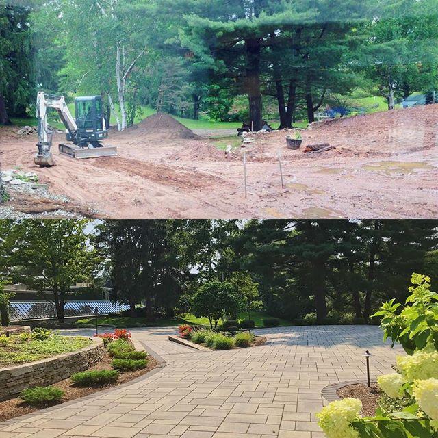 Glen Lochen's Courtyard Transformation