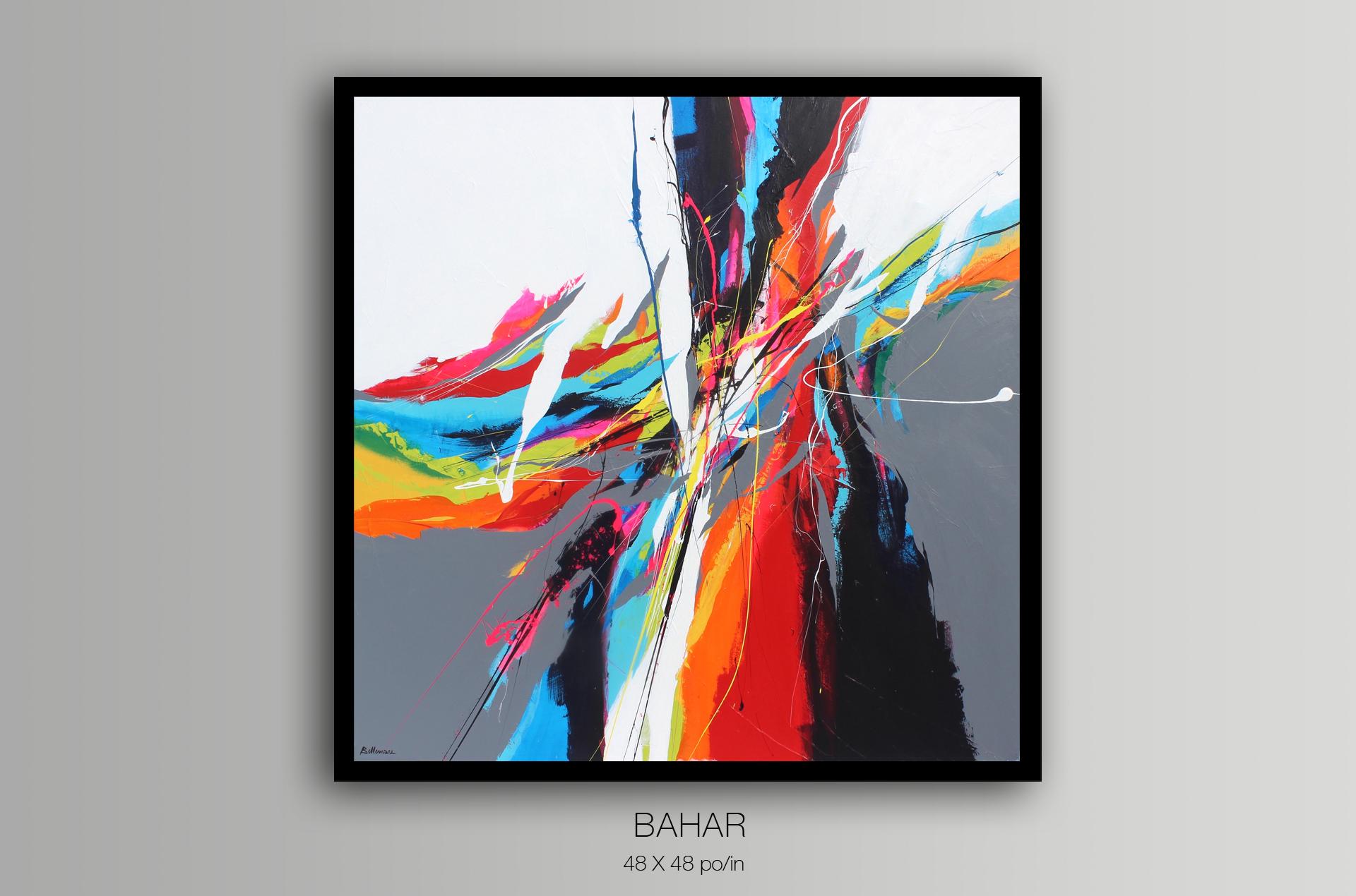 Bahar / 101,6 x 101,6 cm