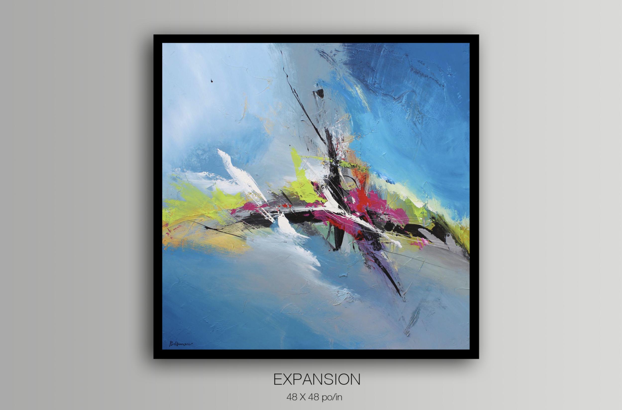 Expansion / 121,92 x 121,92 cm