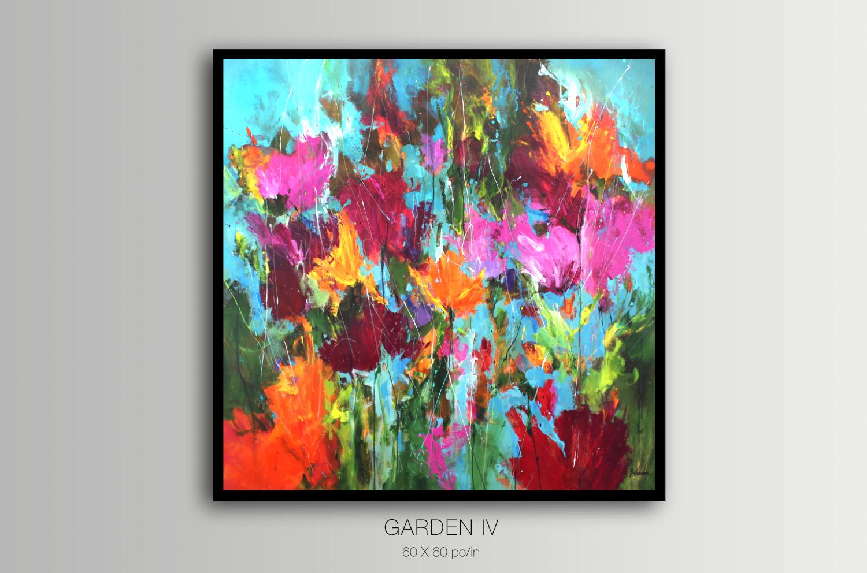 Garden IV / 154,4 x 152,4 cm