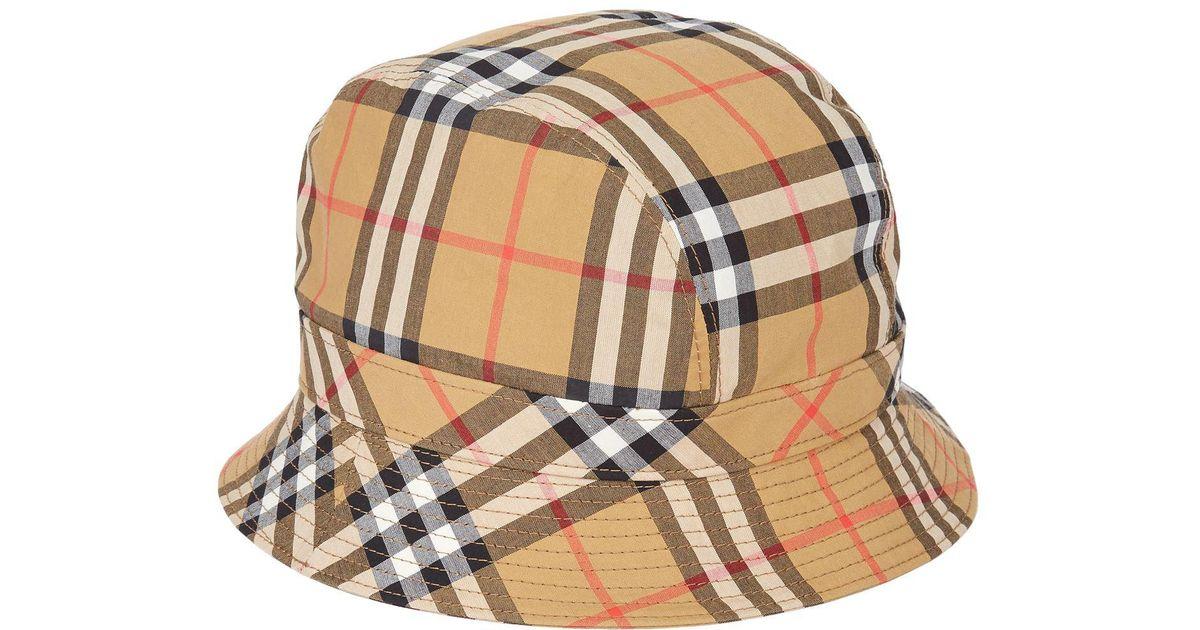 BURBERRY - bucket hat