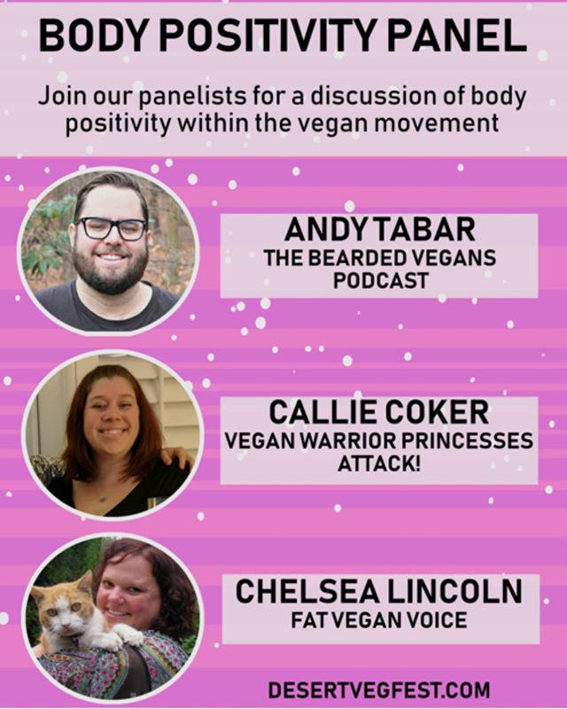 Join Andy, Callie and Chelsea for the Body Positivity Panel taking place on December 7th @ 1PM 🐮