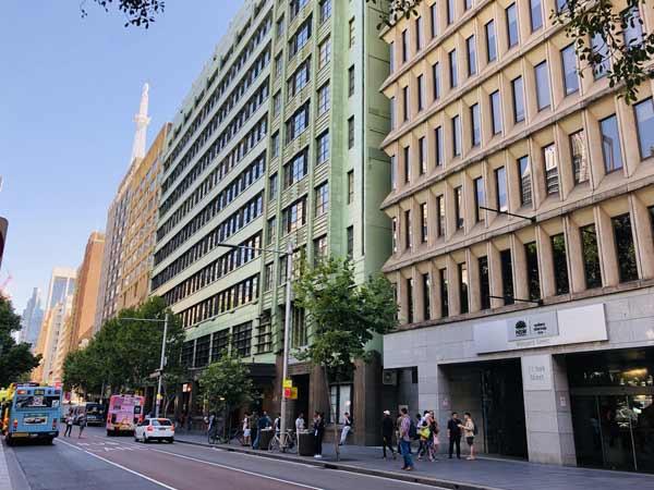 Outside of Sydney Innovation Hub