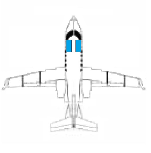 LEFT HAND & RIGHT HAND FORWARD FUSELAGE