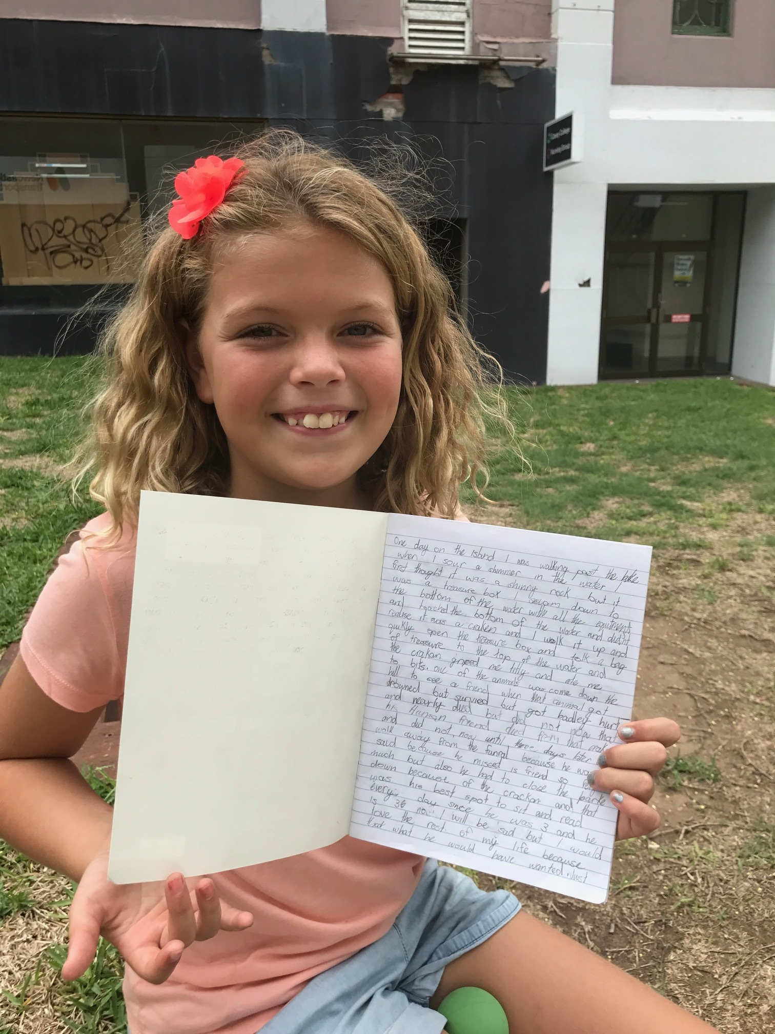"""""""I like the way Ed chooses a theme for the term and we do something different each week on that theme. Ed is funny. I like the way he explains things and he makes writing fun.' - Maggie, aged 10 years"""