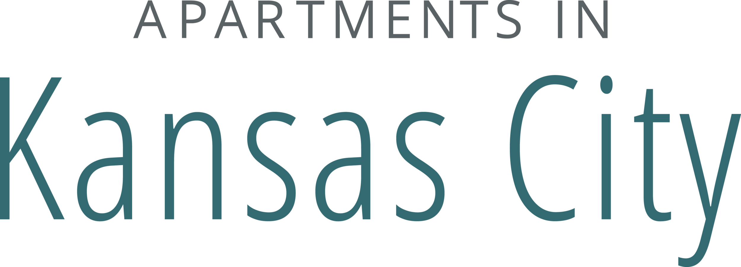 - Part of a branding suite representing apartment complexes within the greater Kansas City Area.- Created While Employed at 365 Connect