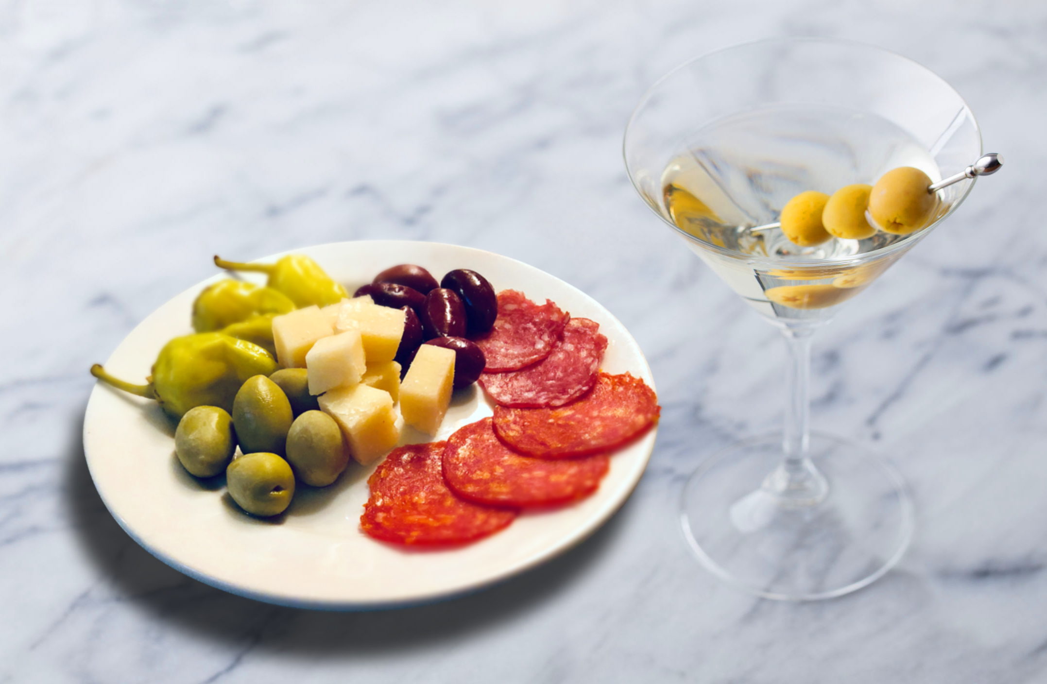 Enjoy a cocktail along with our signature antipasto - You know you are at Primavera when you are warmly welcomed with a plate of fine antipasto and a basket of fresh traditional italian bread.