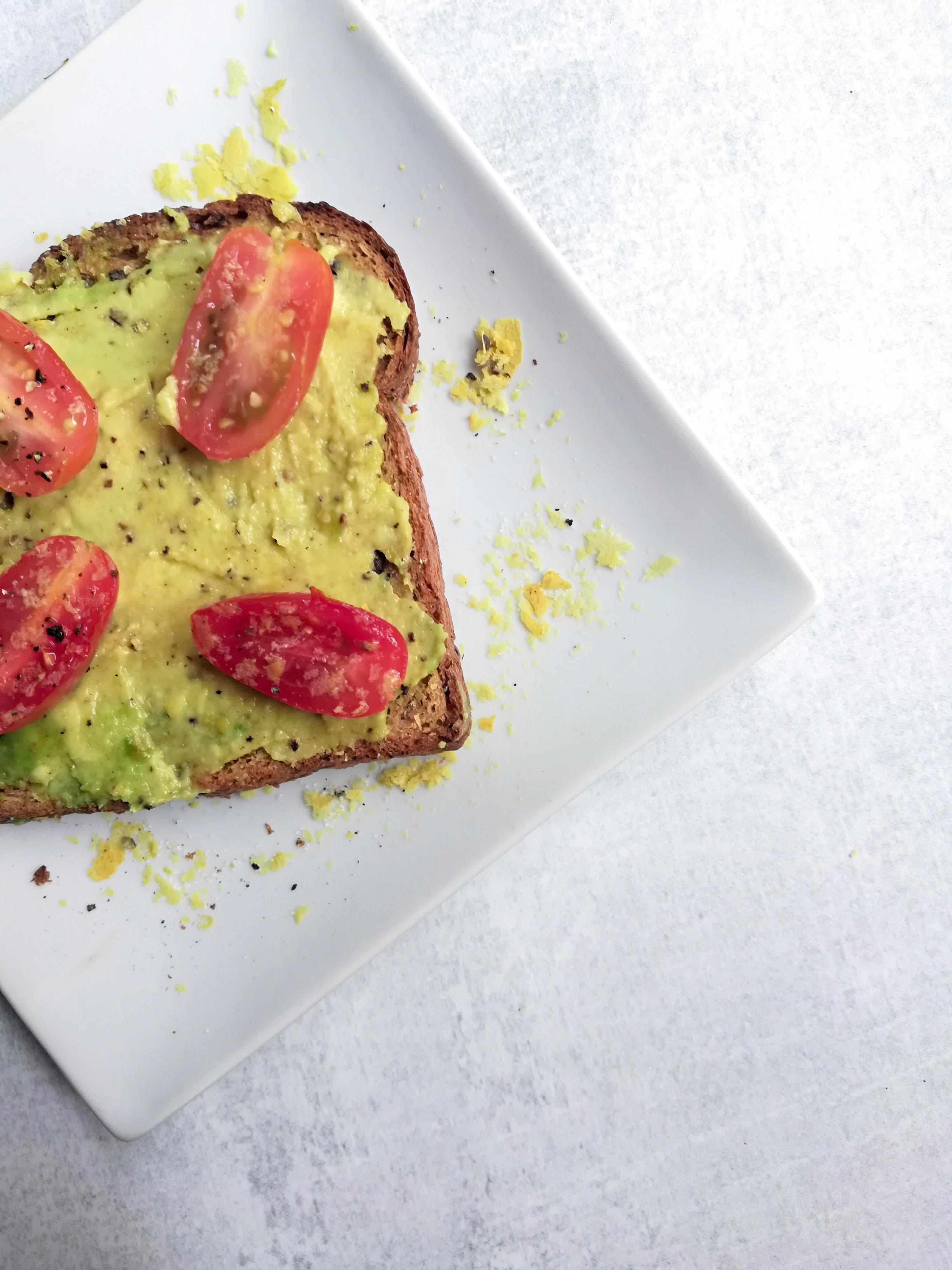 Sweet and Savory Avocado Toast