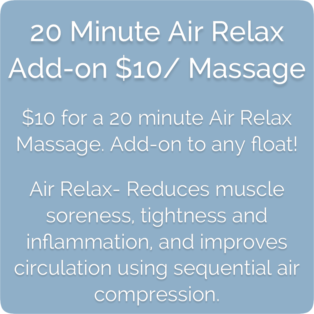 Float Realm Float Therapy in Saratoga near San Jose, Bay Area. Sensory Deprivation Tanks. Float Tanks. Air Relax Massage