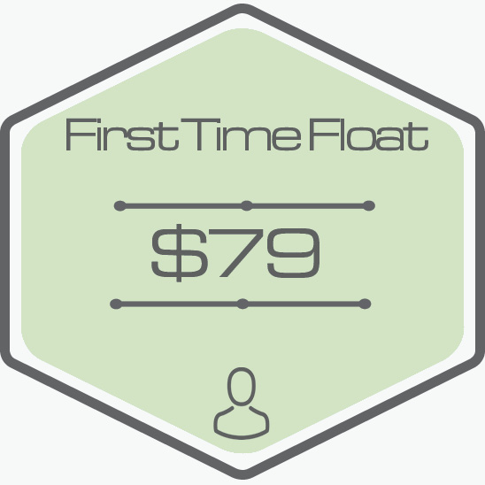 - One Hour Float Time40 Minute IR Sauna or Air Relax Massage TimePrivate RoomAll Essentials Included