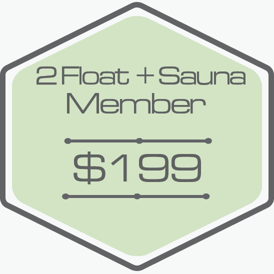- - 2 One Hour Floats and 2 40 minute Sauna Sessions (Call to Book Sauna)-Unlock $70 Add On Floats-Bring a Friend for $60 (Call To Book)-Unused Floats Roll Over-One Hour Float Time-Private Room-All Essentials Included