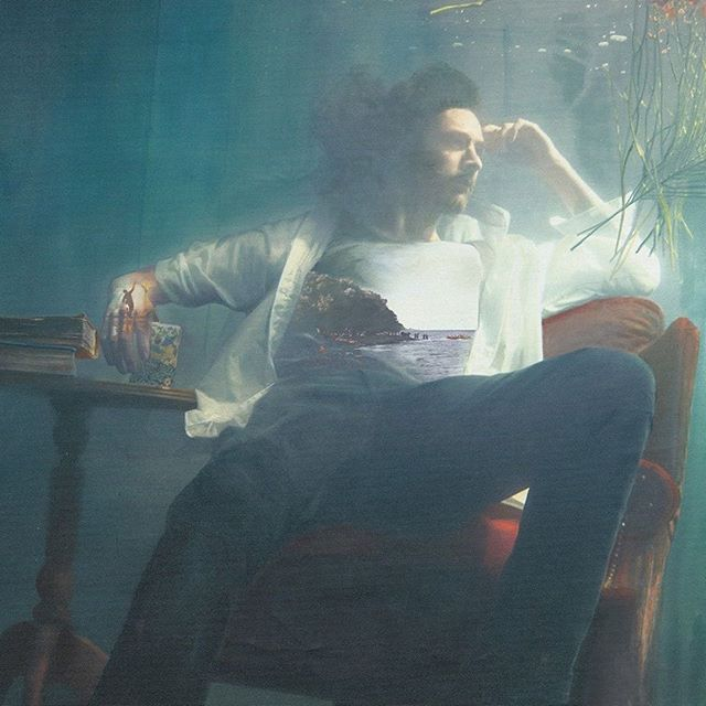 """""""With his political messages, anxieties, and dark romanticism, this is easily his most influential album yet."""" Read more about @hozier's new album Wasteland, Baby! In @allie_raine's brand new review up now! 🍒"""