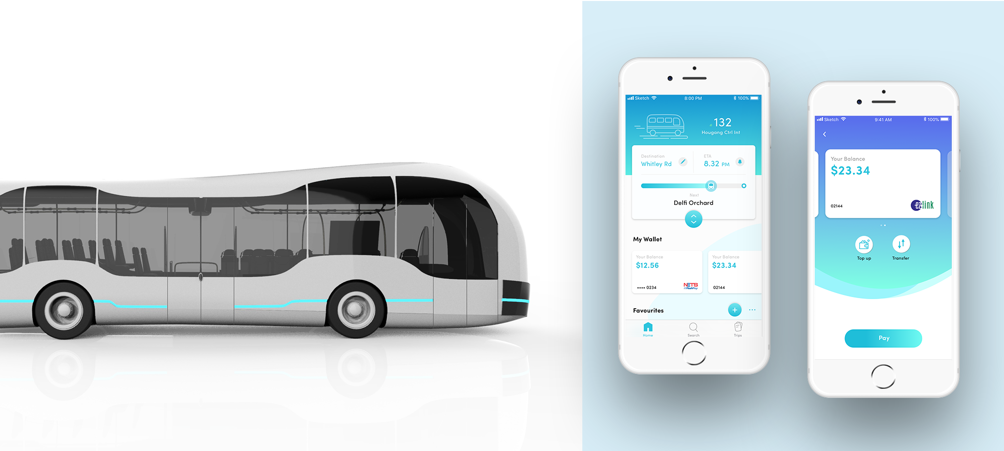 (Left) Omnibus (Right) bus.feed - Our proposed solutions