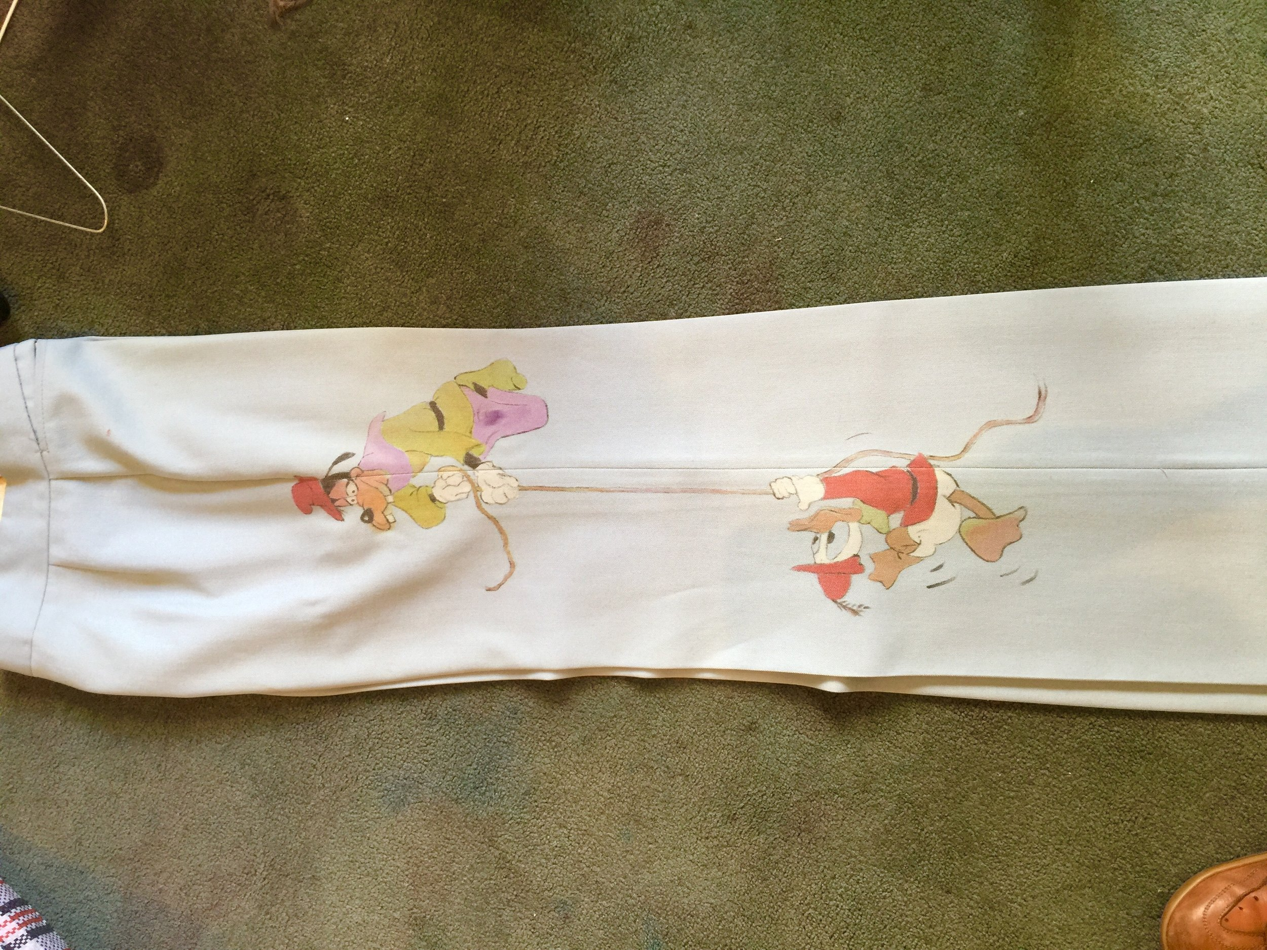 Disney suit other leg (faded)