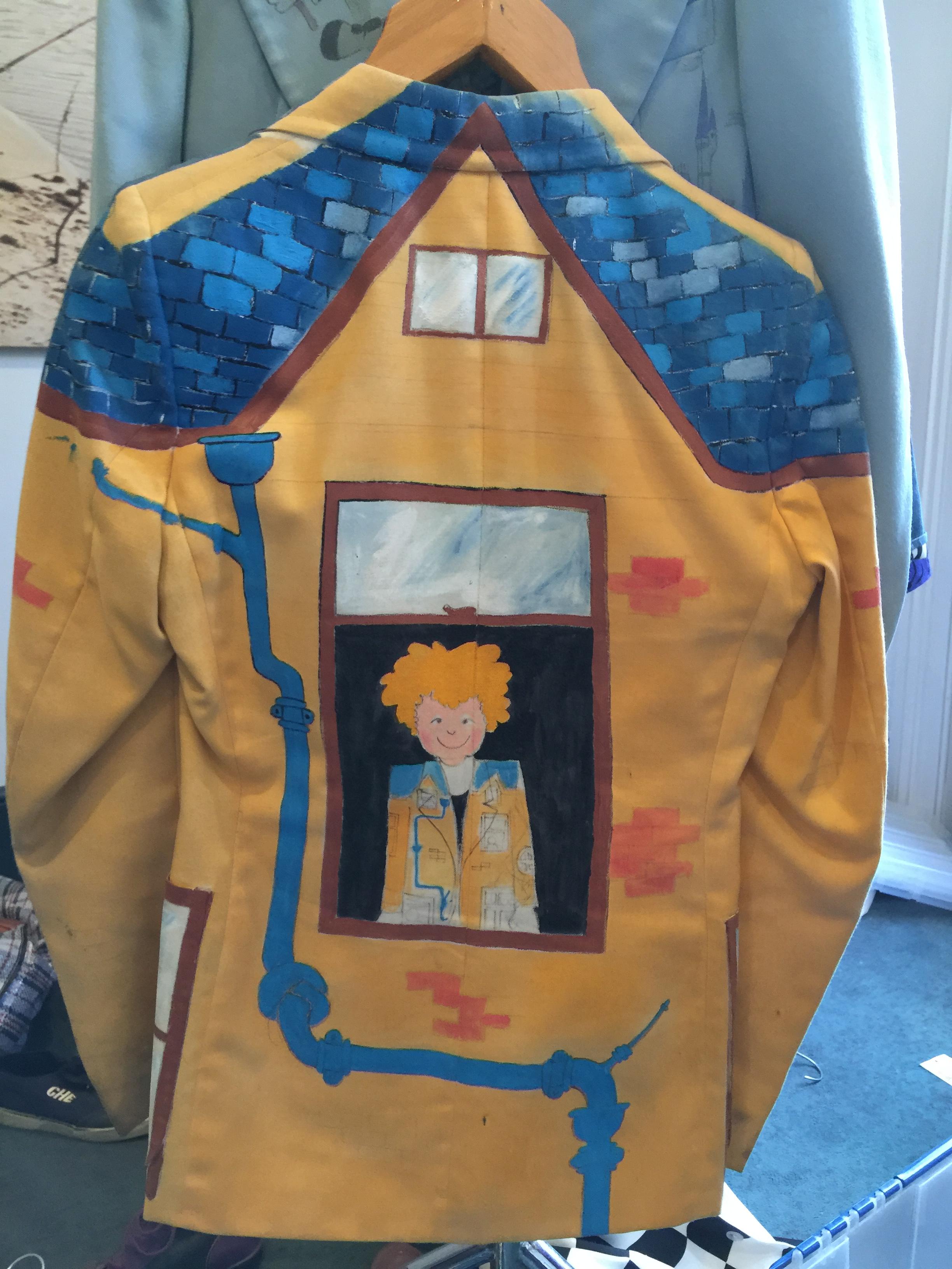 House jacket back