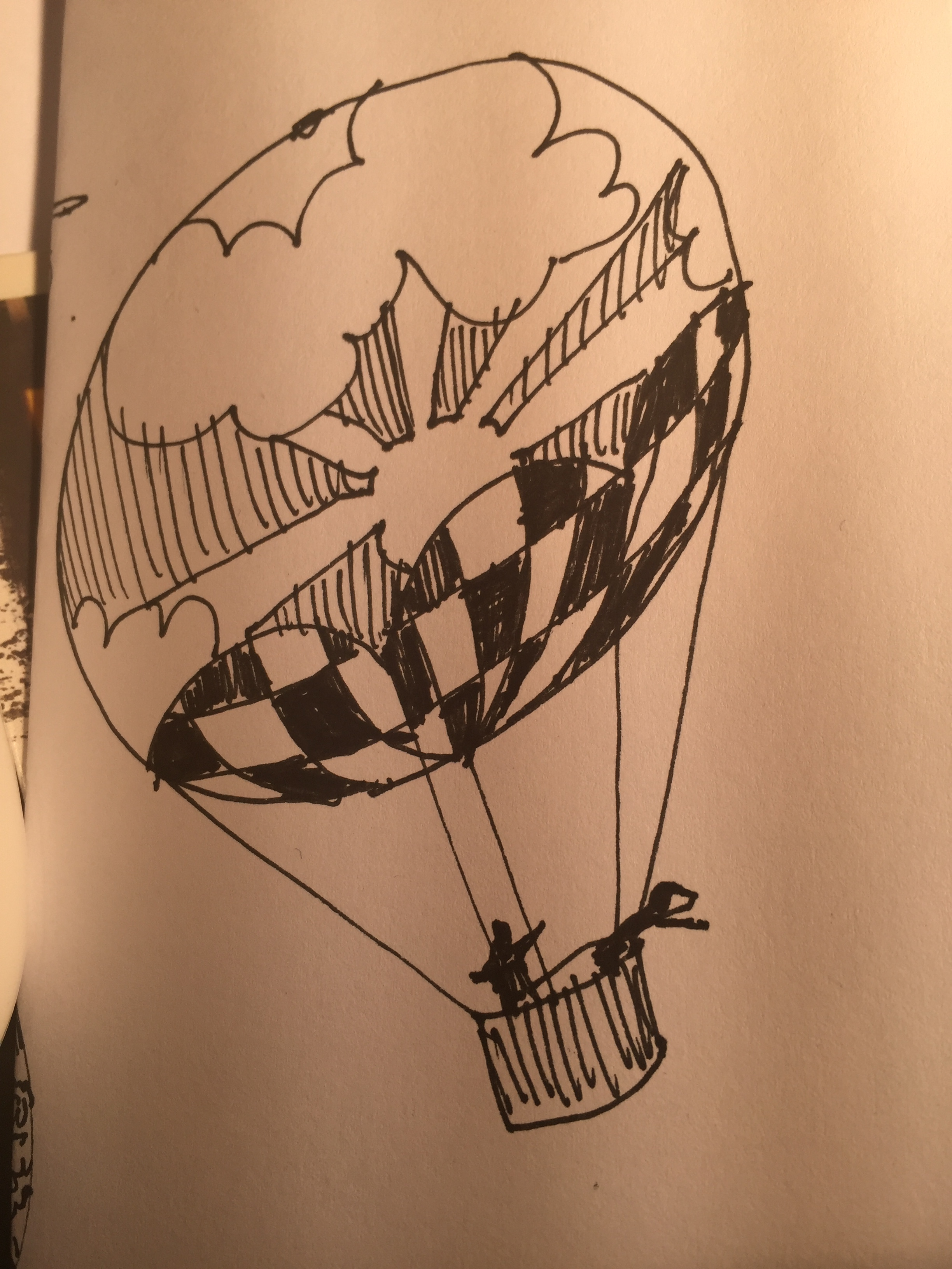 Yet another rougher balloon doodle