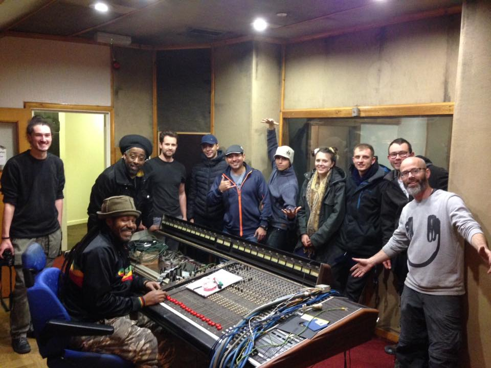 Chris and the Sadacca Studio team re-furbishing the Studio.