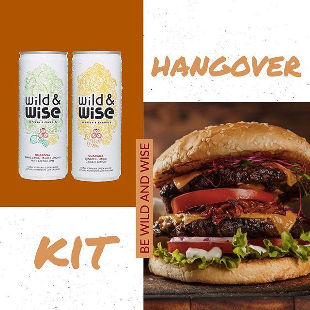 Karşınızda yepyeni bir 'hangover kit'. Dans pistinde harcadığın enerjiyi, bugün Wild&Wise'la geri topla! #bewildandwise