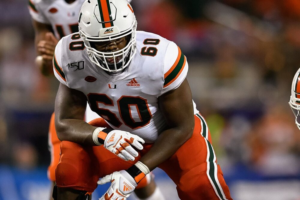 Zion Nelson, OT, Miami: Scouting Report — BLUE CHIP SCOUTING