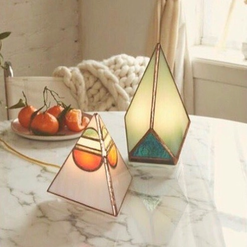Let there be light, but make it fashion // We LOVE these stained glass lamps by @friendofallglass and can't wait until they make it into the shop! Handmade by a badass babe in Brooklyn, these lamps are sure to transform any space. . . . . . #stainedglass #lightingfixture #decor #homedecor #interiors #lifestyleboutique #storeopening #comingsoon #yyz #dundaswest #duwest #girlboss #handmade #handmadegoods #madeinbrookyln #womeninbusiness #rosecitygoods