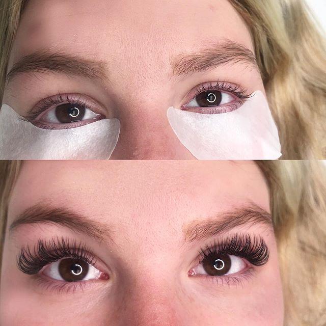 A little cat-eye action for my girl 💃🏼🔥 #dermaglamskinlab #batonrougeeyelashextensions #batonrougesalon #ebllashes #borbeletabeauty