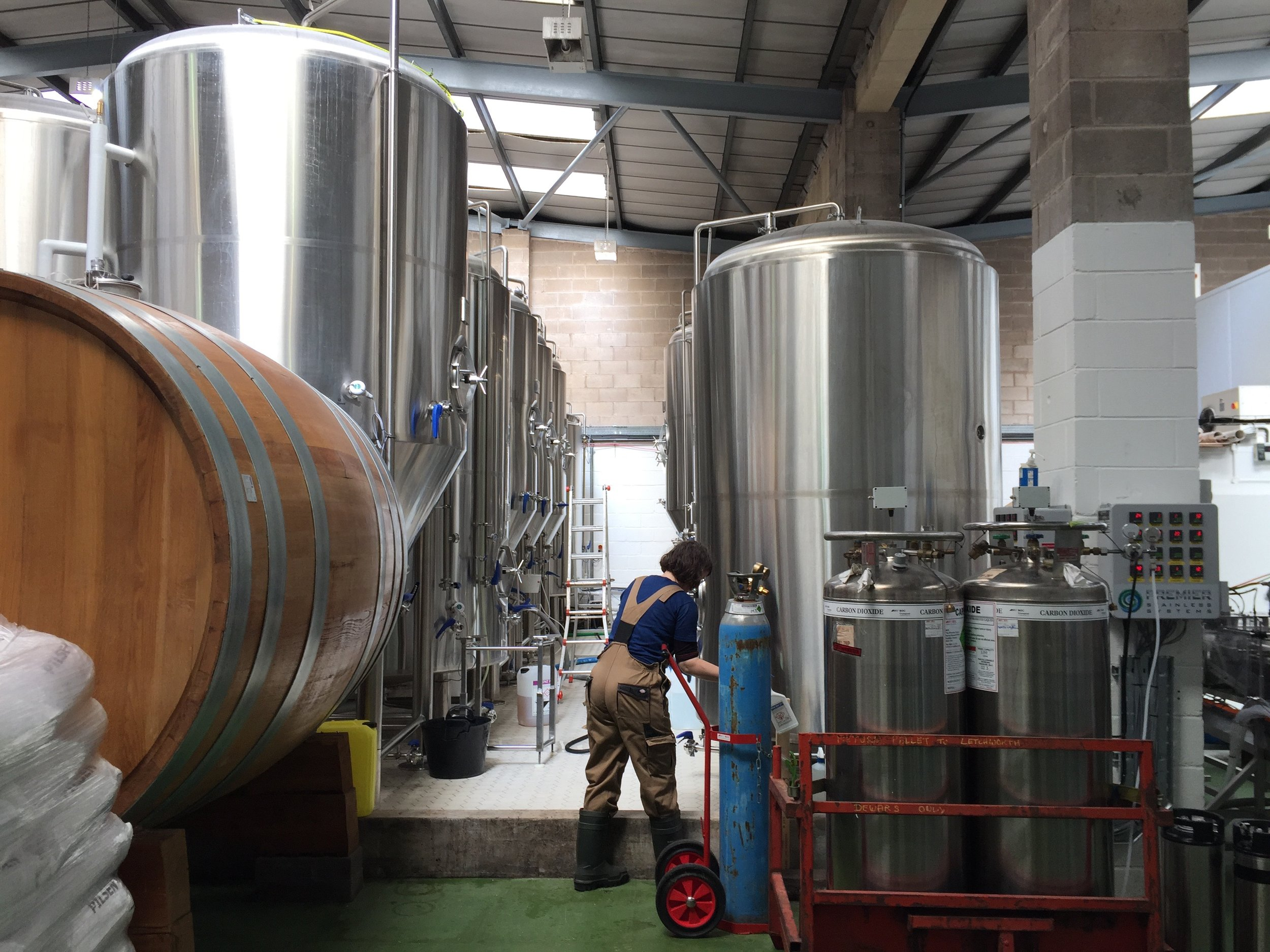 The Cloudwater Brewery, pictured in 2017