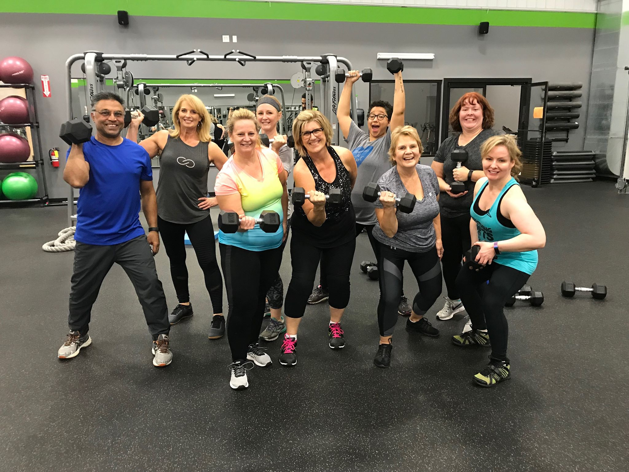 Our Transform U group consists of people in different places on their journey to be their best. We push, motivate and support each other every step of the way. Lead by a personal trainer who is also an ACE Nutrition Specialist, this program addresses multiple facets of wellness to increase results.