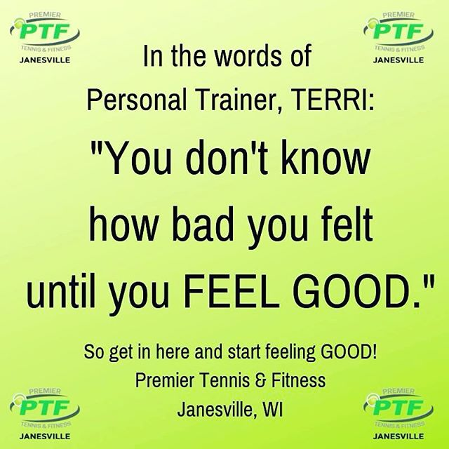 This is so true!  One of our trainers, Terri, shared this in a conversation the other day and we knew we had to share this nugget of wisdom.  #ptfcommunity #ptfjanesville  #transformu #wednesdaywisdom