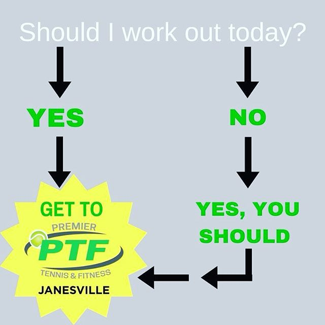 There you go.  We've answered the question for you! #ptfcommunity #ptfjanesville #transformu #gettothegym