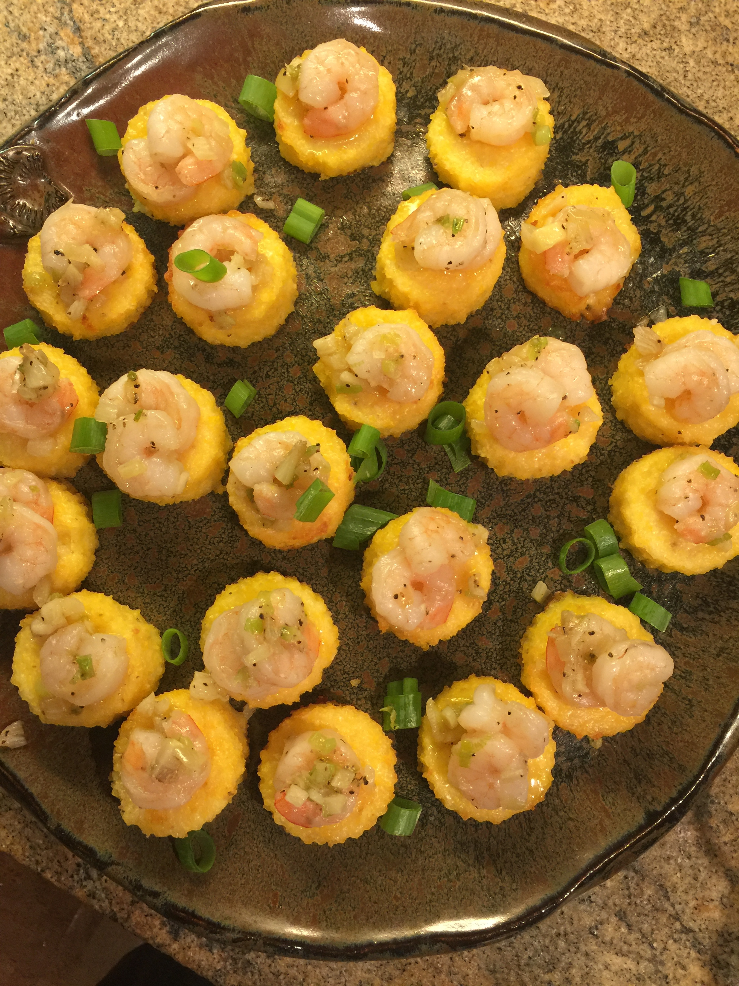 shrimp and grit cakes