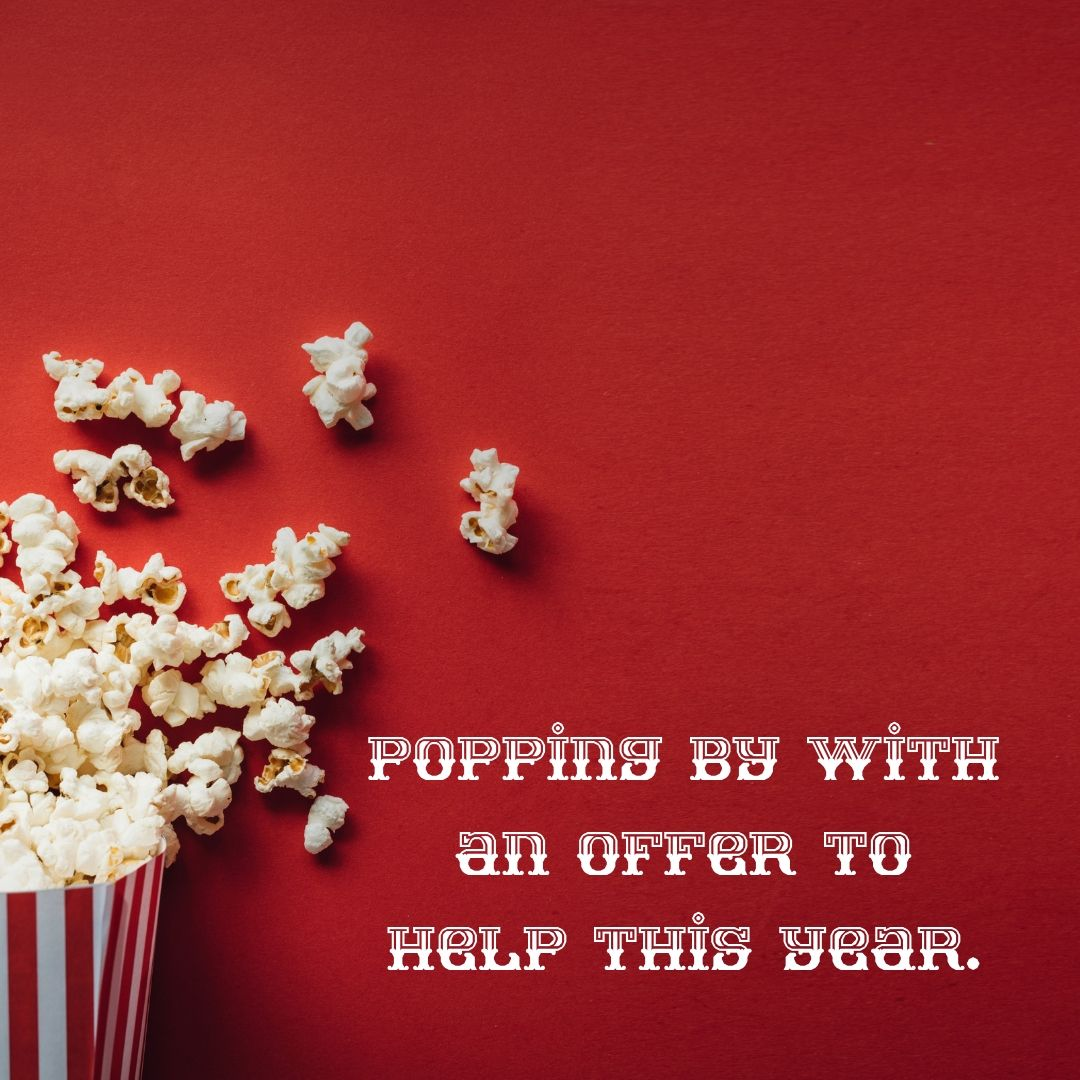 Just add popcorn