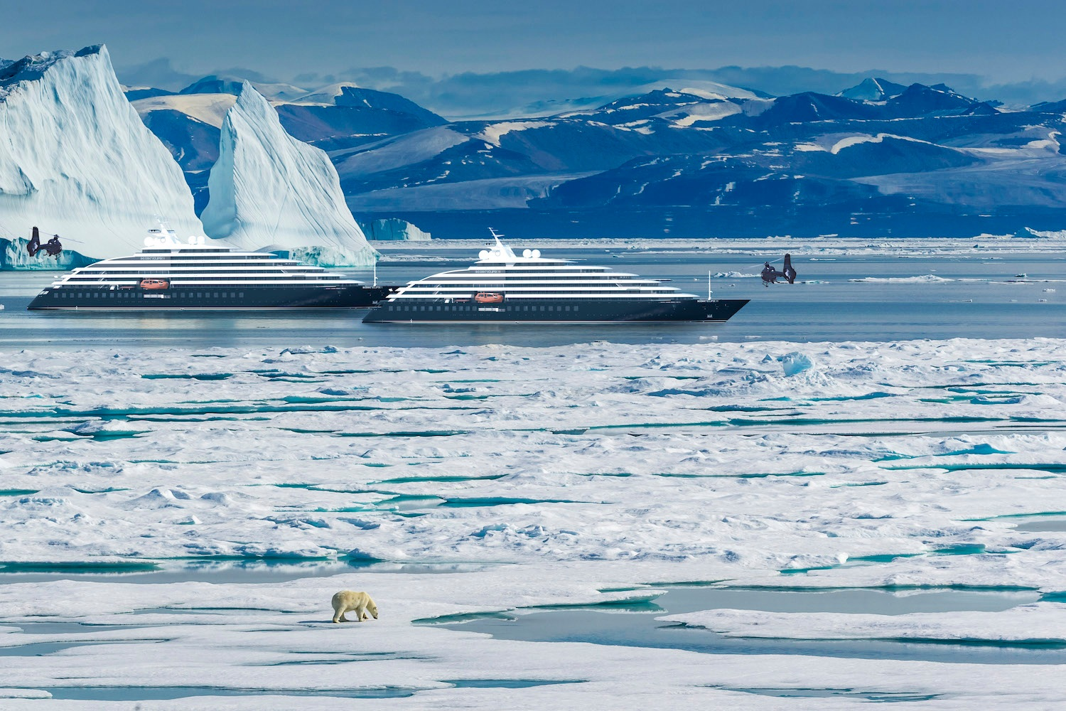 Explore the Arctic in Luxury - The Scenic Eclipse fleet takes ocean cruising to a whole new level, giving guests the opportunity to explore above and beyond what was previously imaginable. From nature to cultural encounters and the Arctic to the Antarctic, Scenic Eclipse is sure to feature a voyage that excites you.