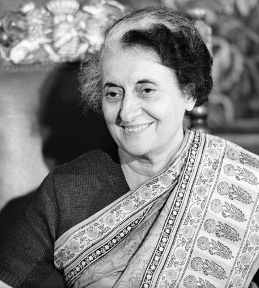 """You must learn to be still in the midst of activity and be vibrantly alive in response."" - Indira Gandhi"