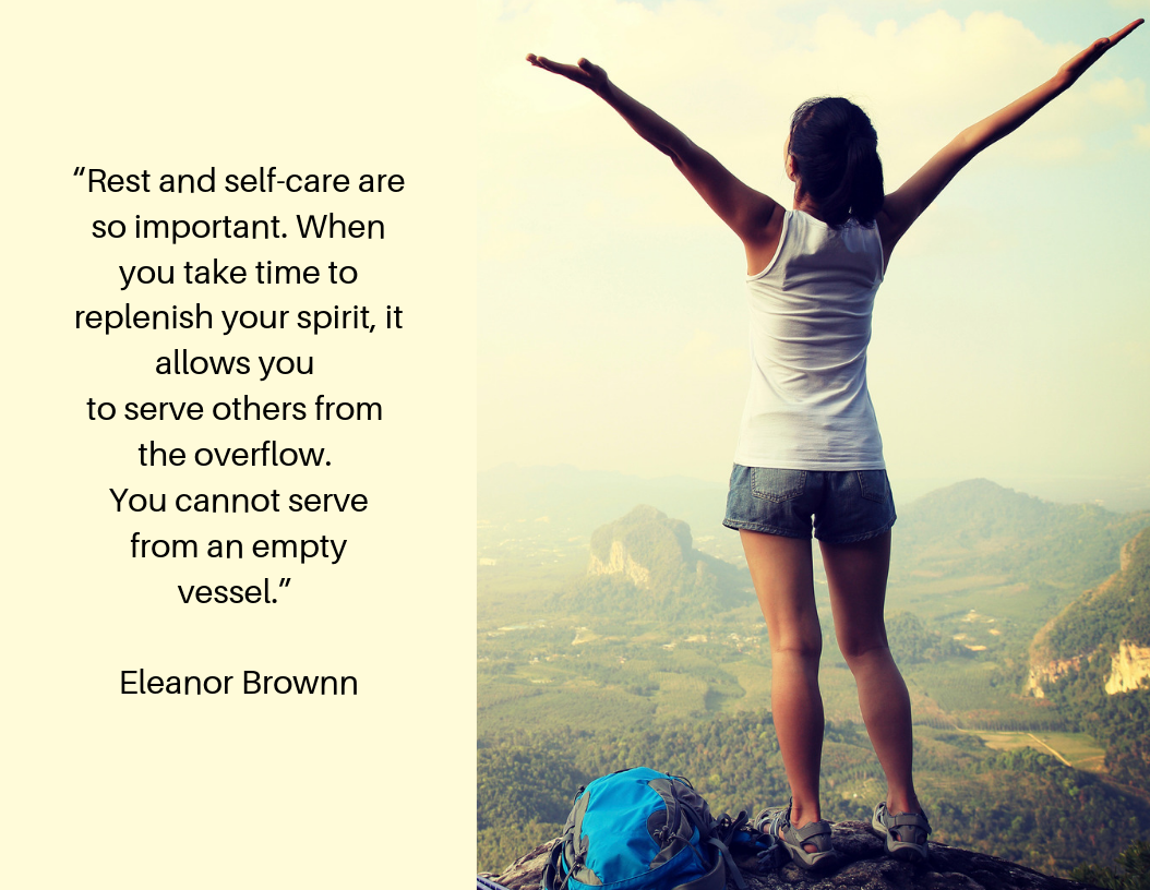 Rest and self-care Eleanor Brownn