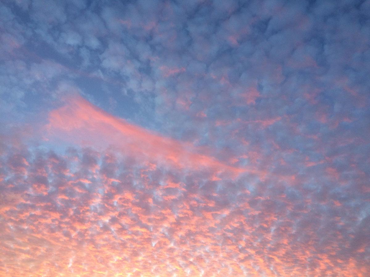 In den Himmel gemalt