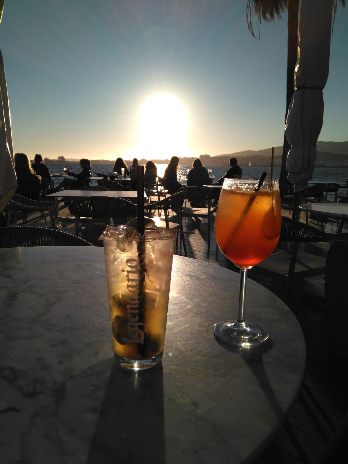 Sundowner im Chiringito