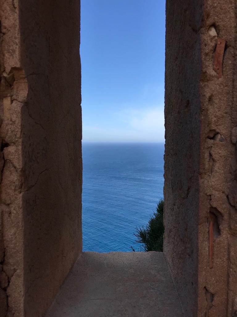 Blick aus dem Wehrturm von Sant Elm