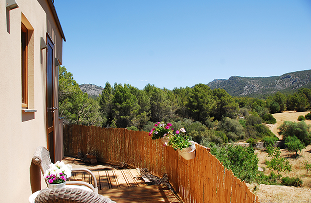 Casita mit Terrasse