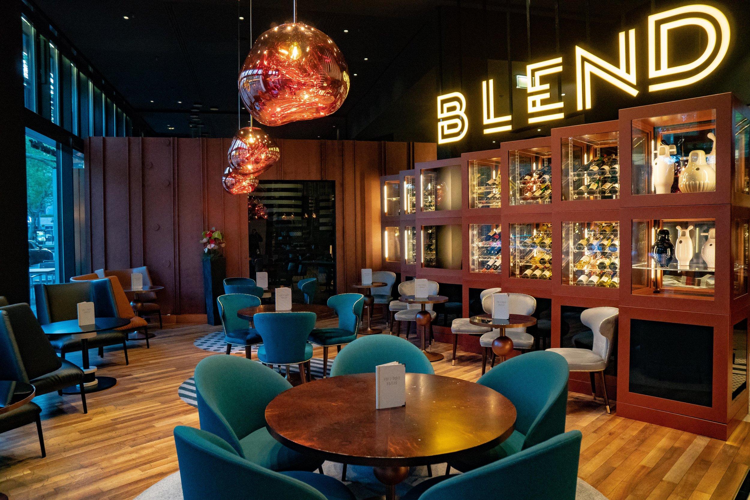 BLEND Restaurant at Pullman Berlin Schweizerhof