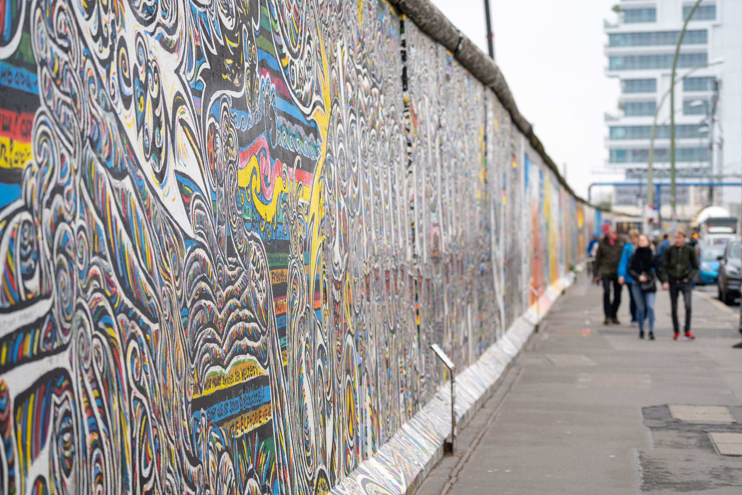 Section of the East Side Gallery