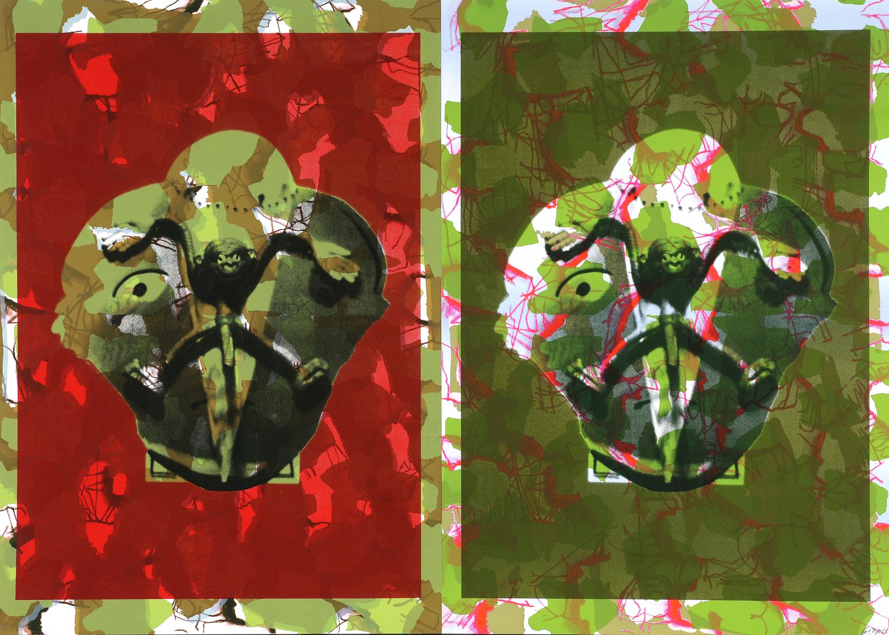 Psicoanálisis doble de mono,  2008