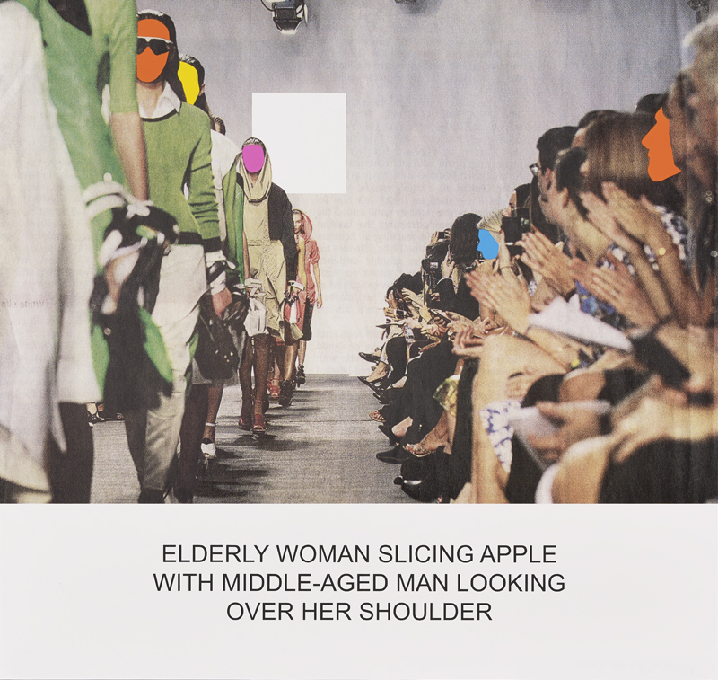 The News: Elderly Woman Slicing Apple...,  2014