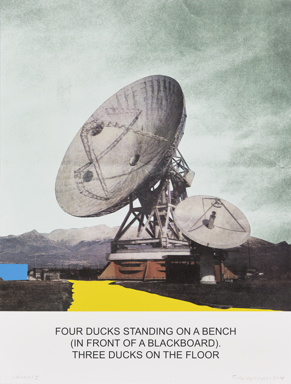 The News: Four Ducks Standing on a Bench...,  2014