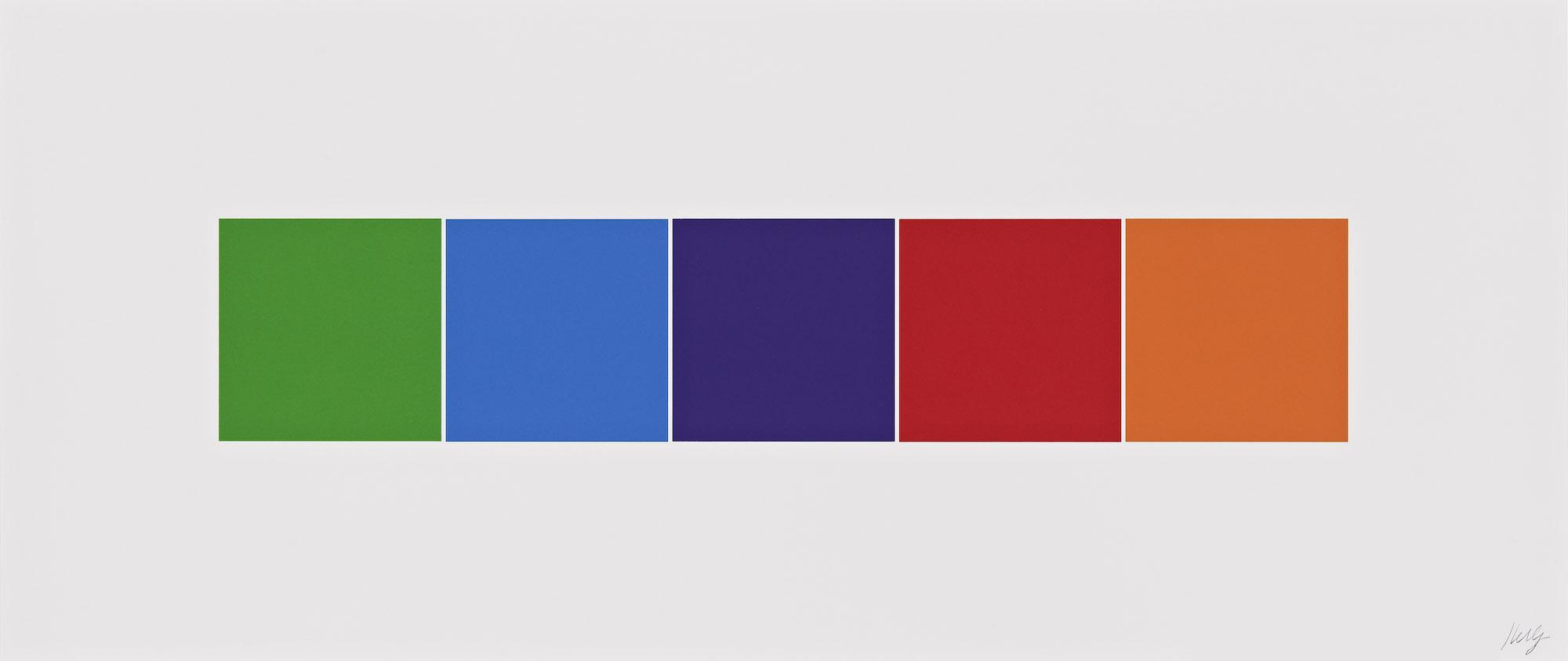 Color Squares 4,  2011