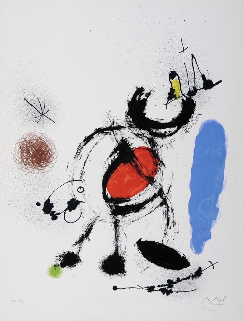 Pájaro migratorio V,  1970