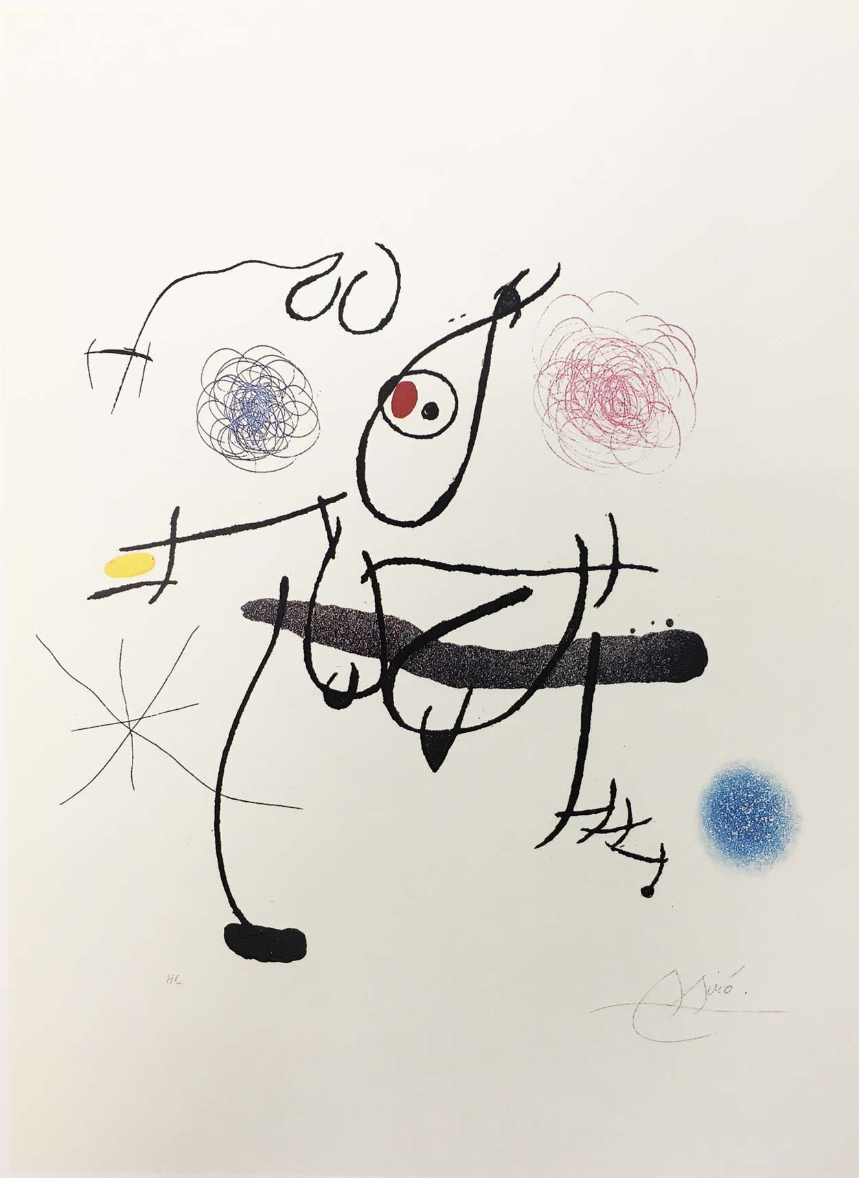 Miró a la tinta,  1972