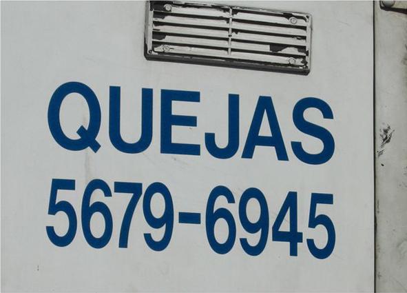 Quejas 1, 2007