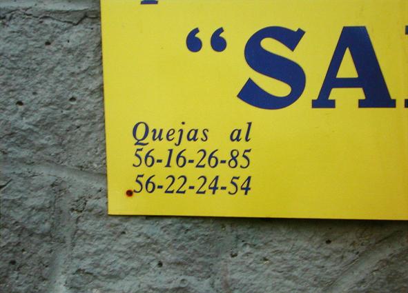 Quejas 3,  2007