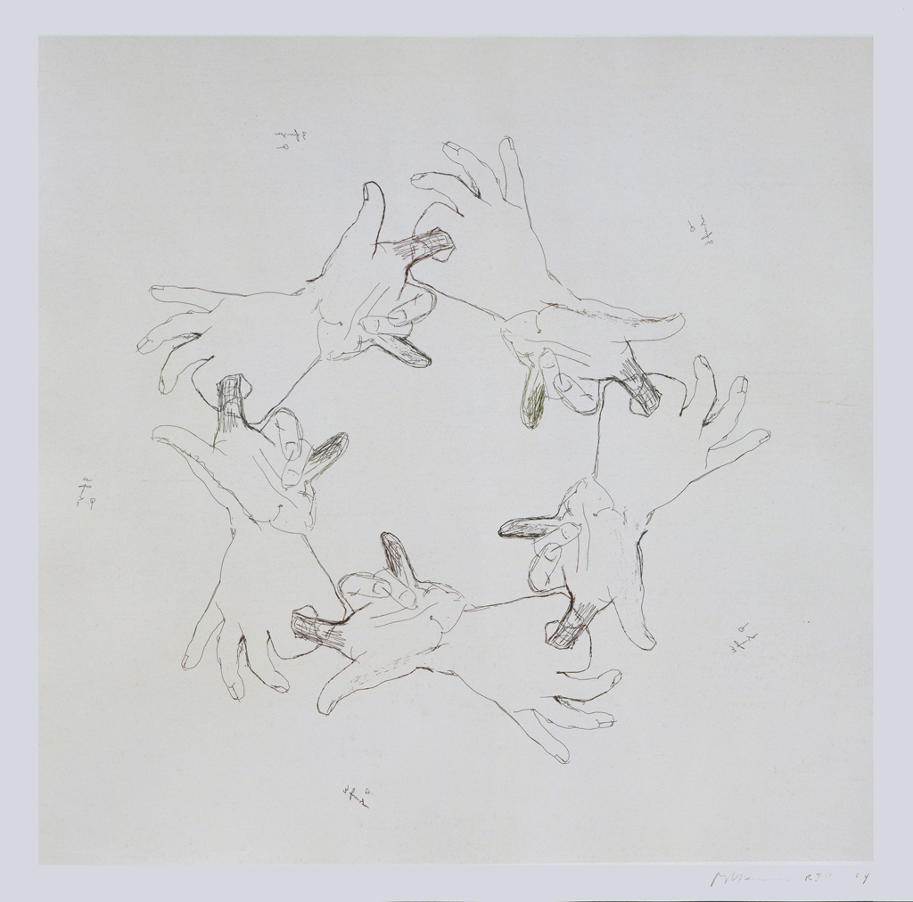Untitled (From Fingers & Holes Series),  1994